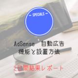 アドセンス自動広告