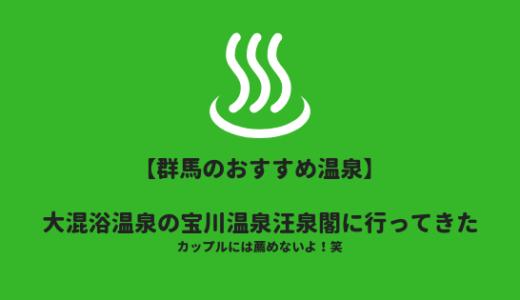 群馬県の混浴温泉の1つ、宝川温泉汪泉閣に日帰り入浴!カップルには薦めません!